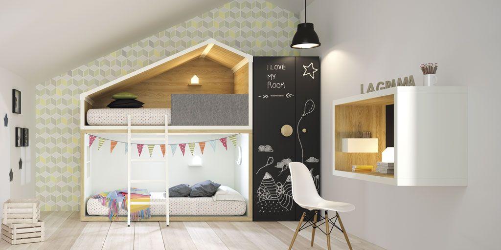 Dormitorios juveniles con un aire moderno y atrevido for Recamaras juveniles modernas