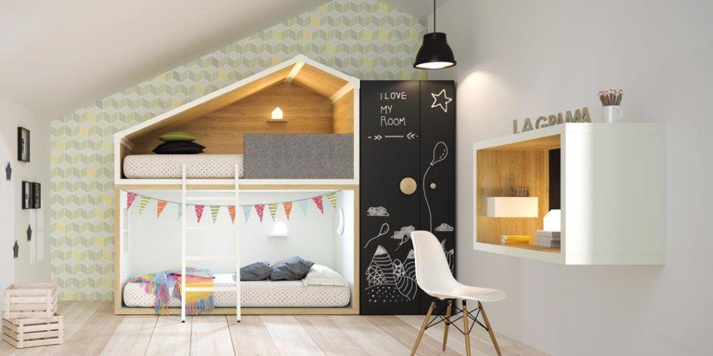 Dormitorios juveniles con un aire moderno y atrevido for Roperos para dormitorios juveniles
