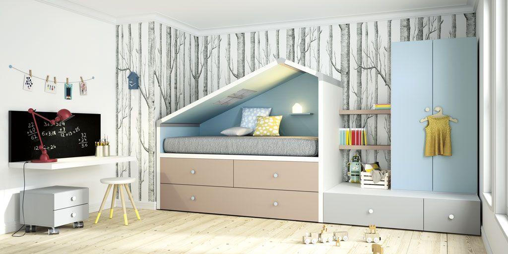 Dormitorio juvenil Bremen de la colección Cottage