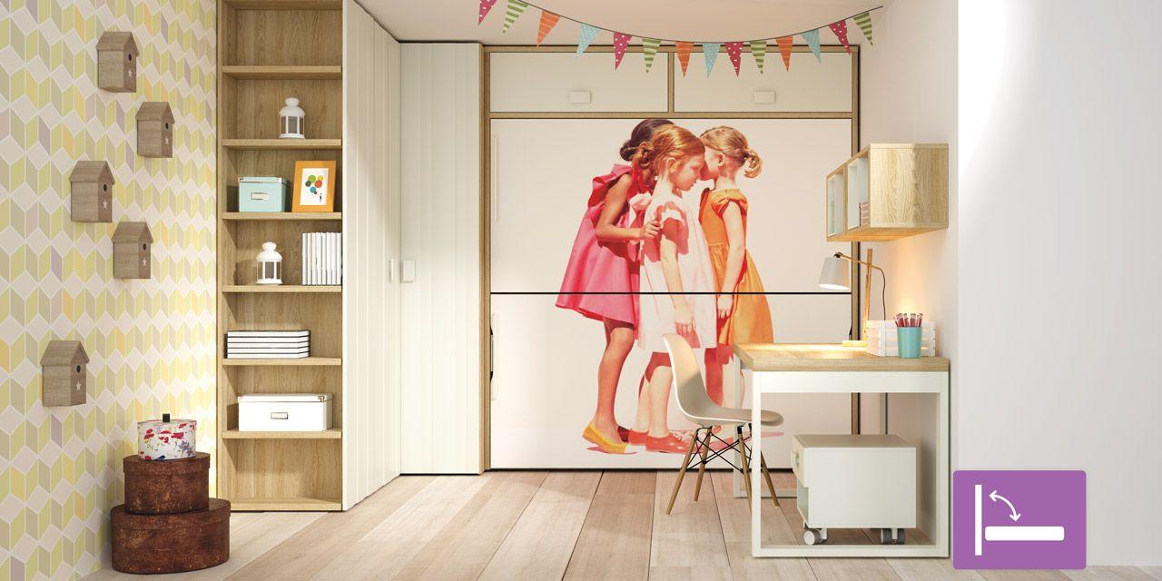 Camas abatibles te solucionan el problema de espacio en casa for Modelo de dormitorio 2016