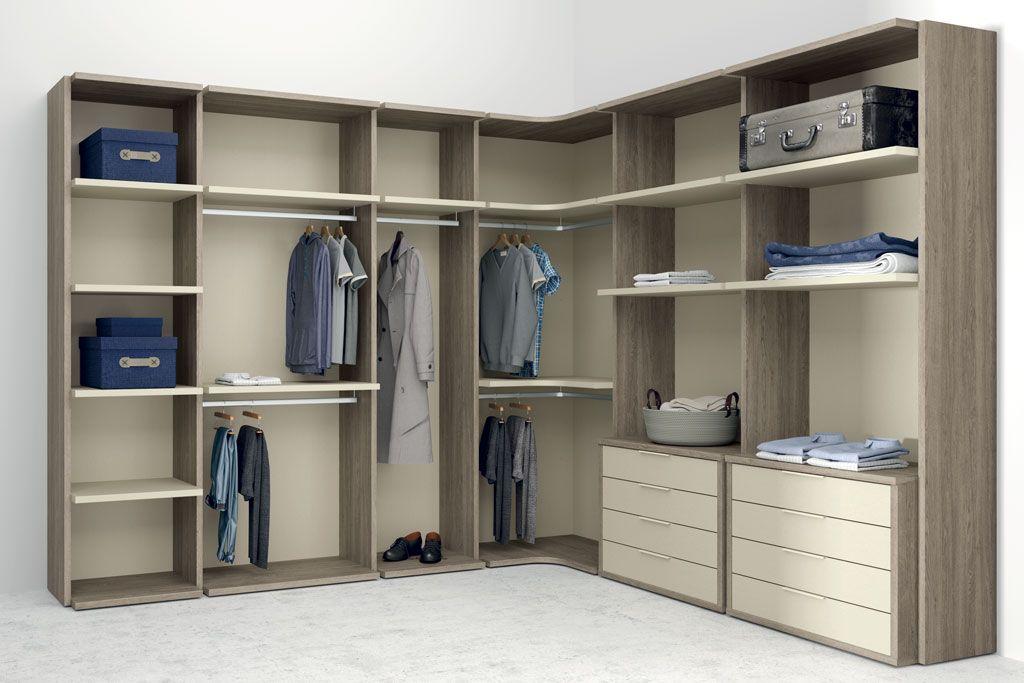 Vestidores abiertos la mejor opci n si tienes espacio y estilo for Tipos de closet para dormitorios