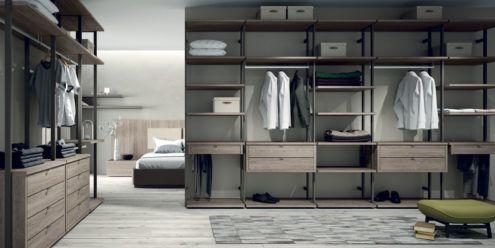 VESTIDORES ABIERTOS la mejor opcin si tienes espacio y estilo