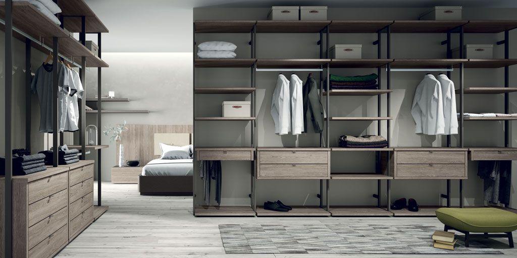 Vestidores abiertos la mejor opci n si tienes espacio y estilo - Armarios diseno italiano ...