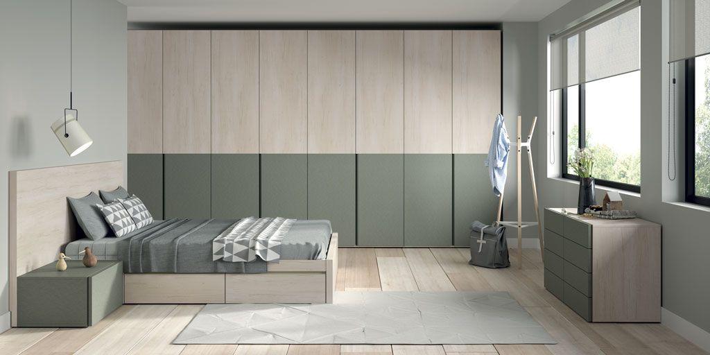 Personaliza tu armario con los dos paneles de las puertas - Armarios con puertas abatibles ...