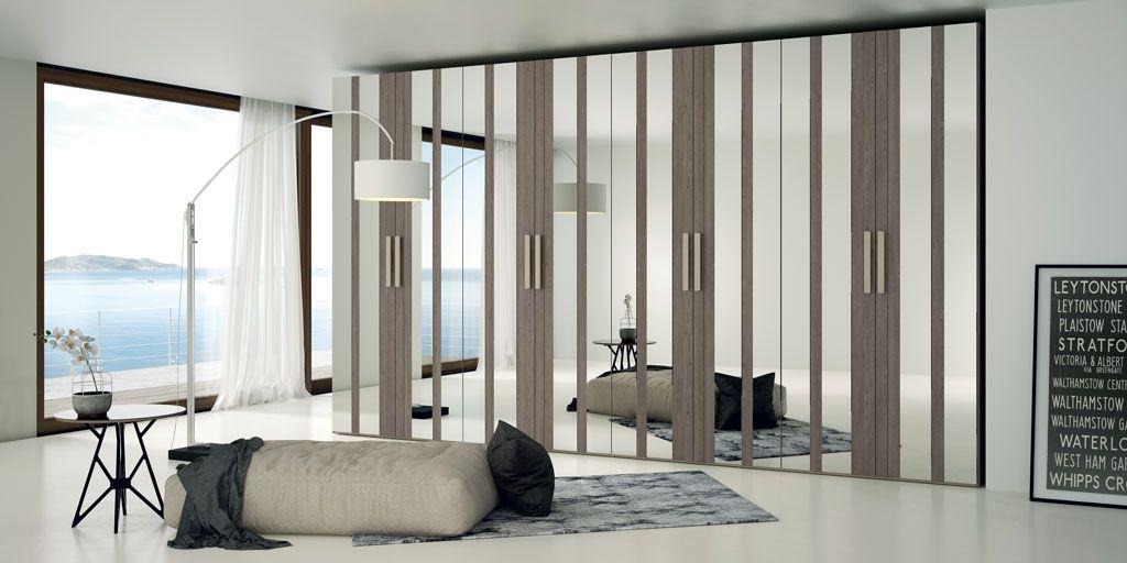 Las puertas con espejo le dan un toque mas funcional al - Espejos para dormitorios juveniles ...