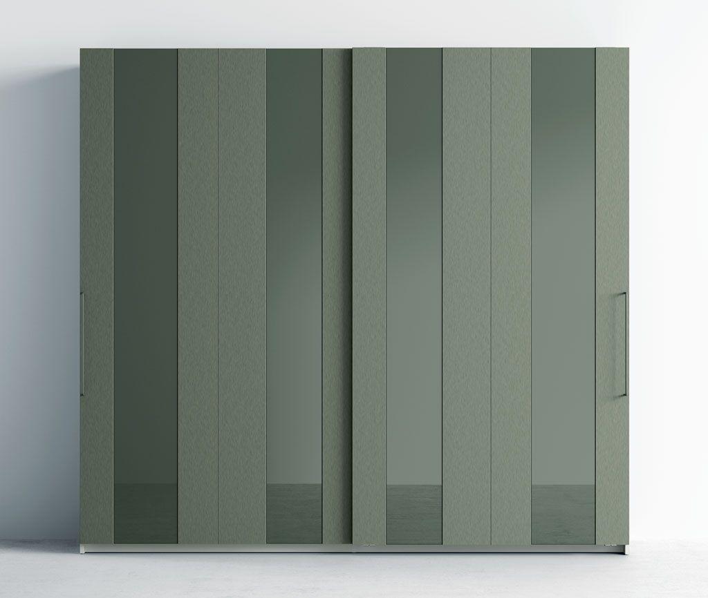 Armarios con puertas de cristal cool armario puertas - Puertas cristal corredera ...
