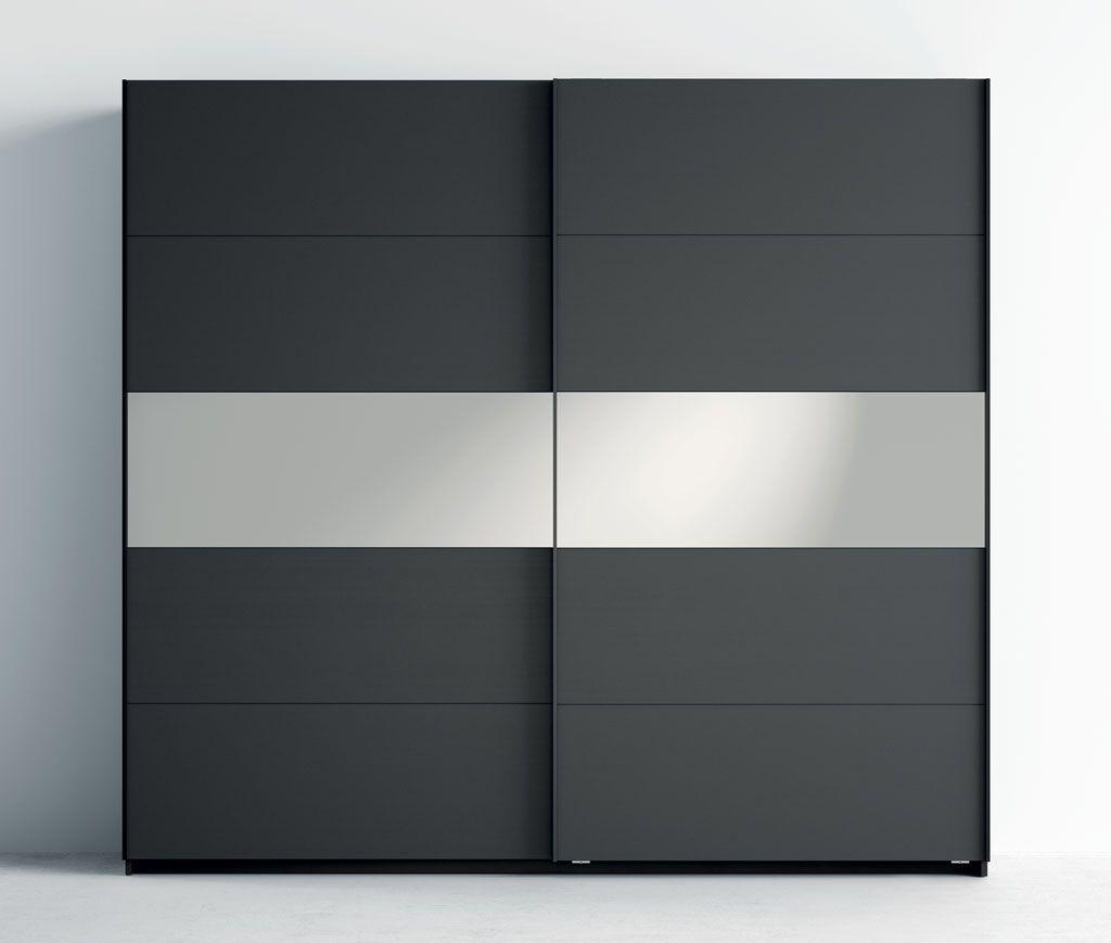 Armario A5 con el panel central con espejo