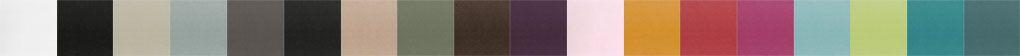 Colores disponibles para los tiradores