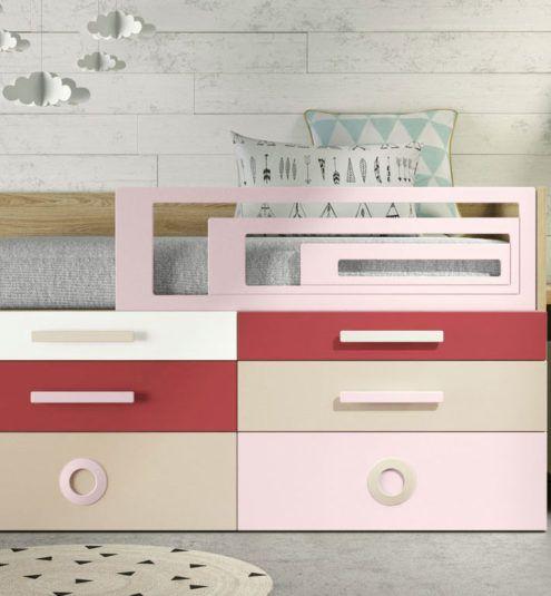 Detalle del mobiliario modular Kubox