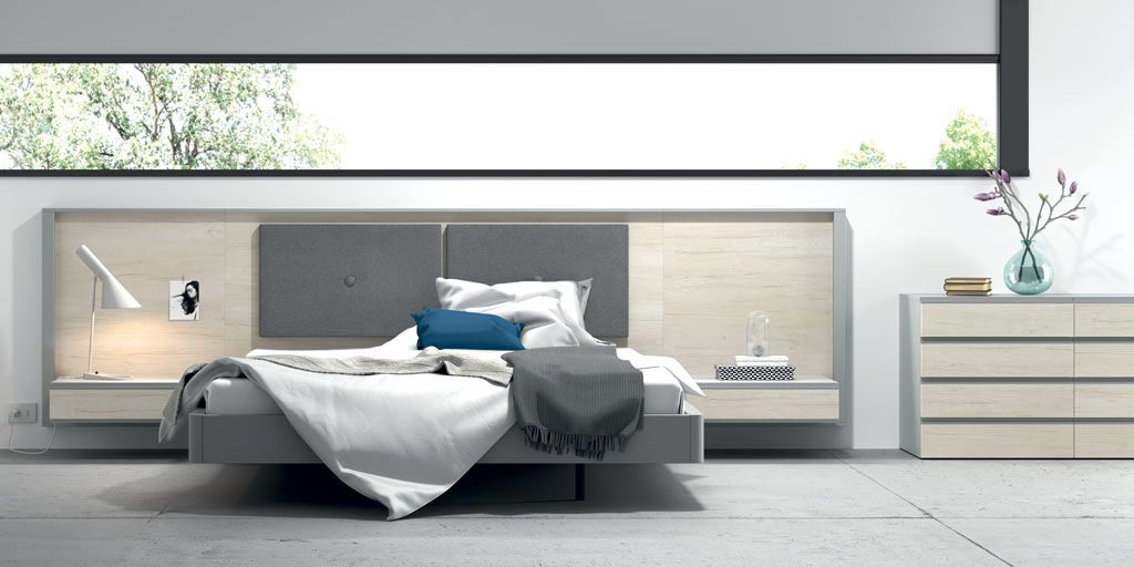 Fotografía de la composición de dormitorio Homage tapizada