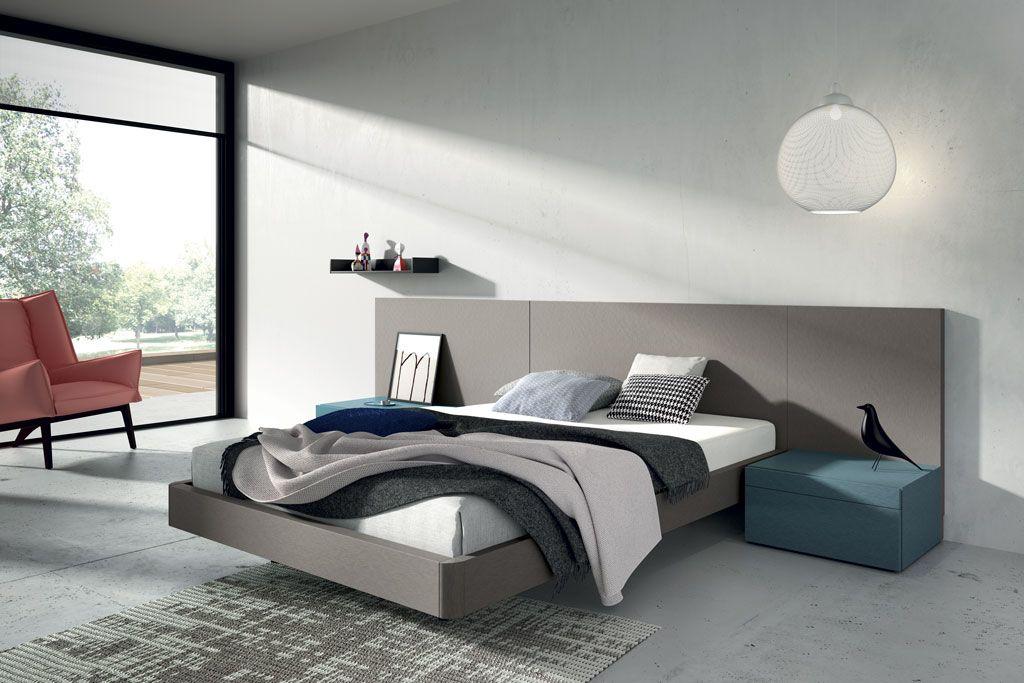 Las camas de matrimonio comparten dise o con los armarios for Dormitorios de matrimonio minimalistas