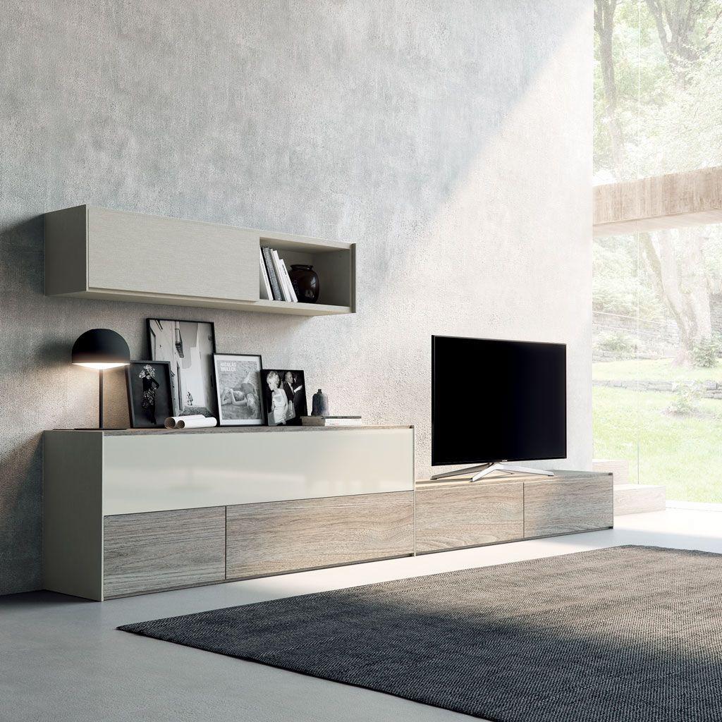 Los salones modernos del cat logo life box tienen un for Muebles modernos para living