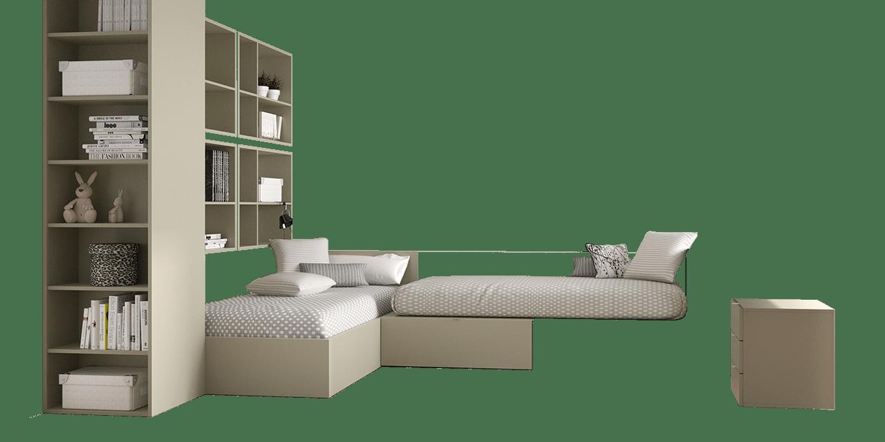 Dormitorio juvenil Sídney-combi