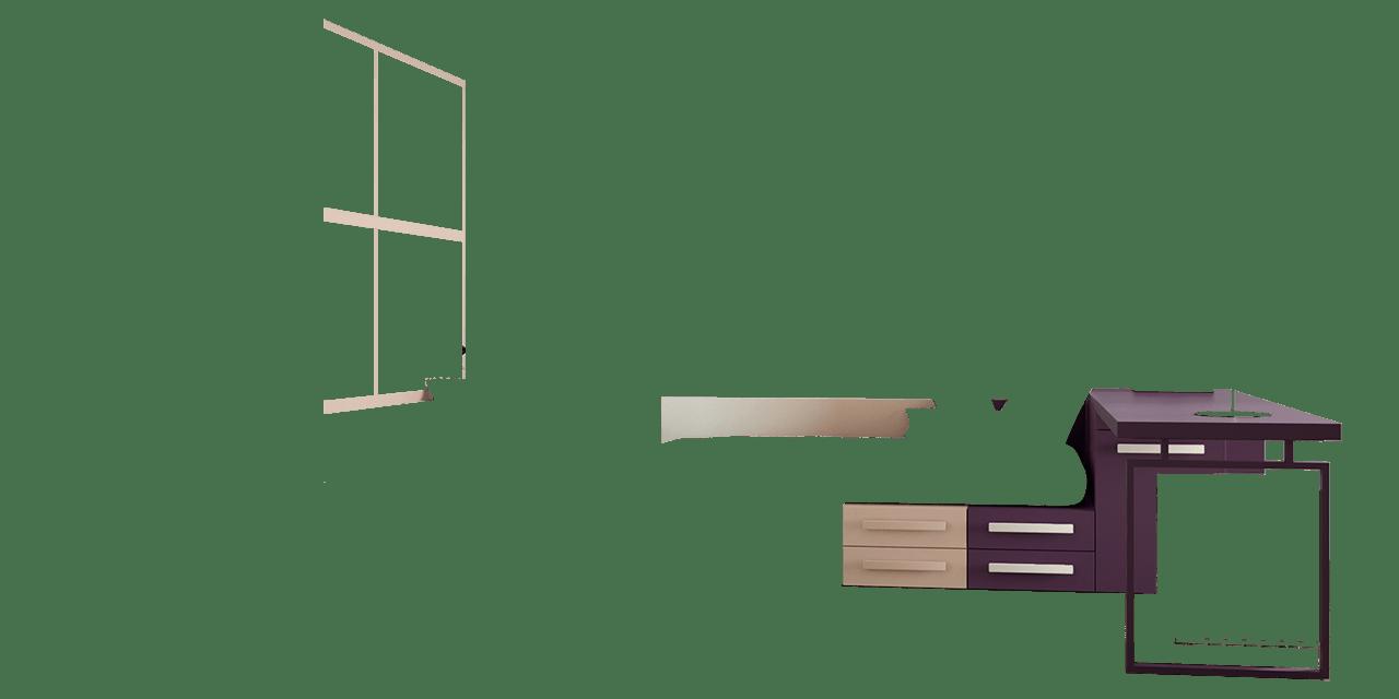 Combinación de colores Pruna y Sepia claro