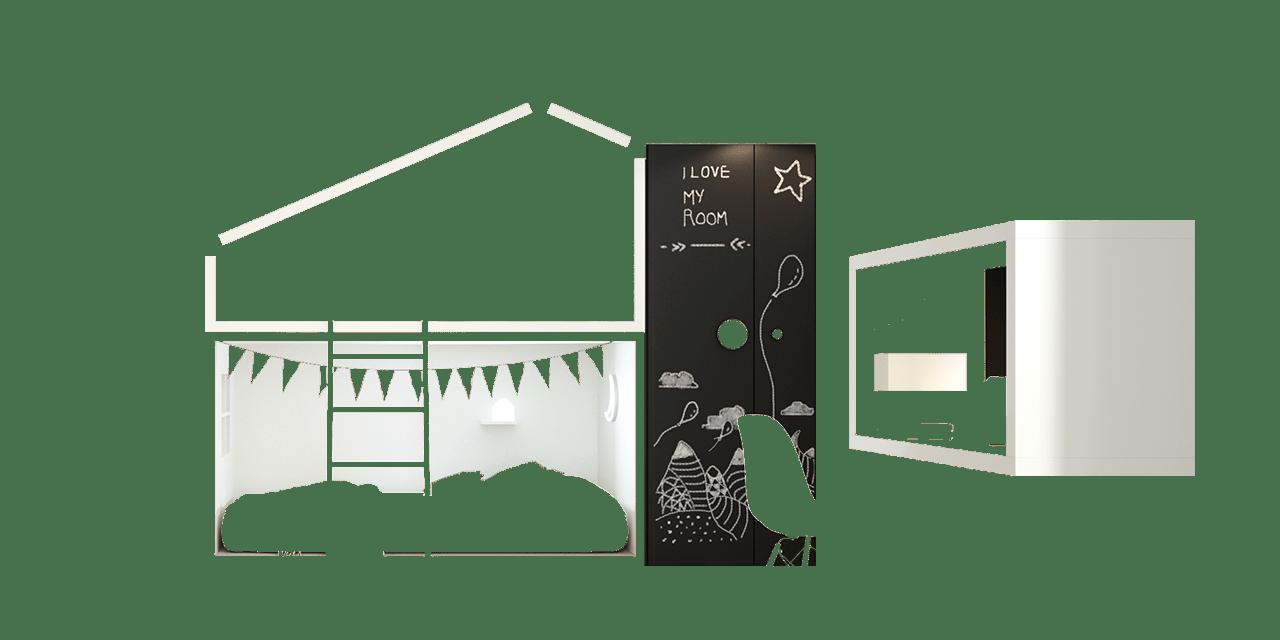 Dormitorio infantil Cottage-combinacion
