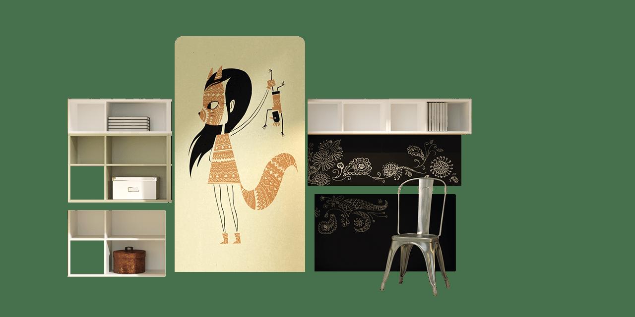 Dormitorio juvenil Estambul-combinacion