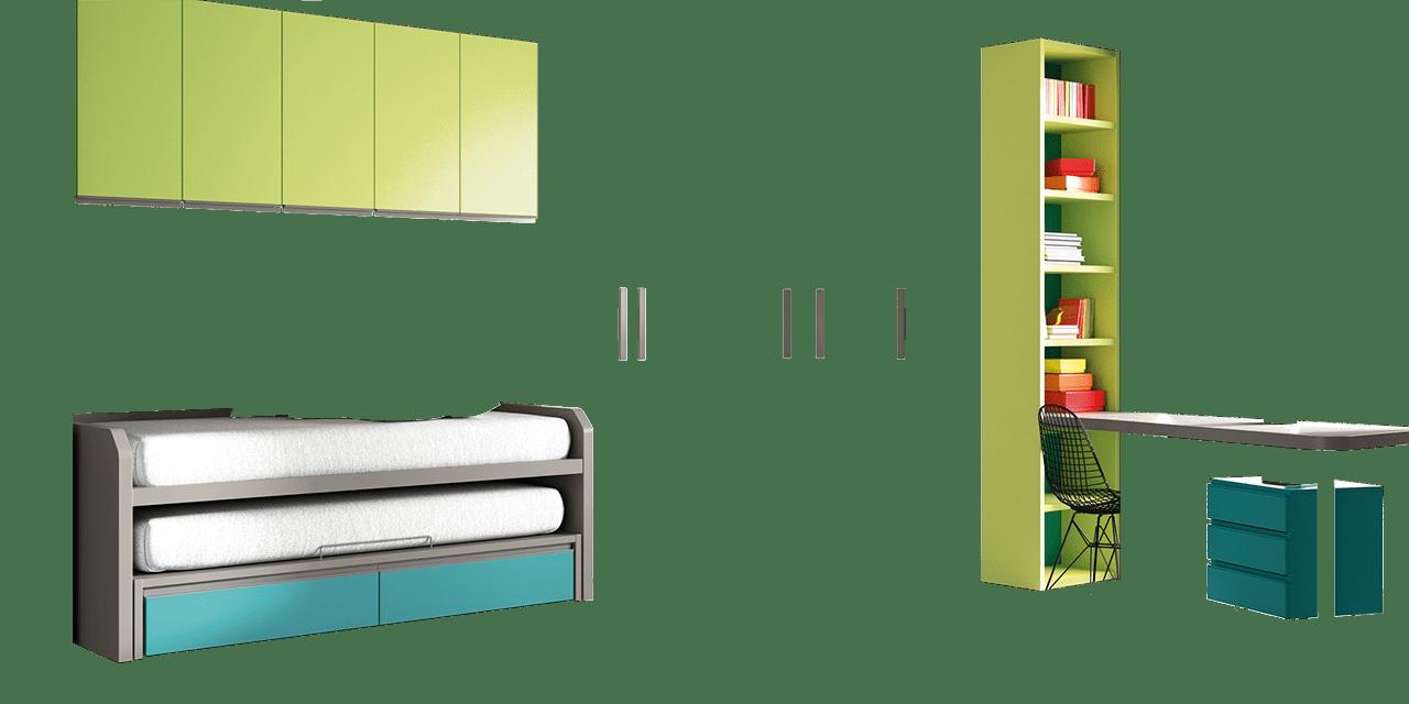 Dormitorio juvenil York-combinacion