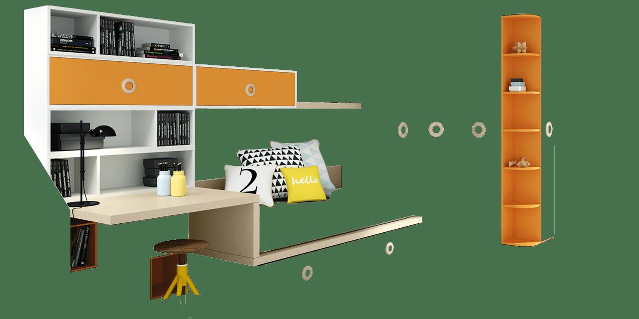 Dormitorio juvenil Flandes-combinacion