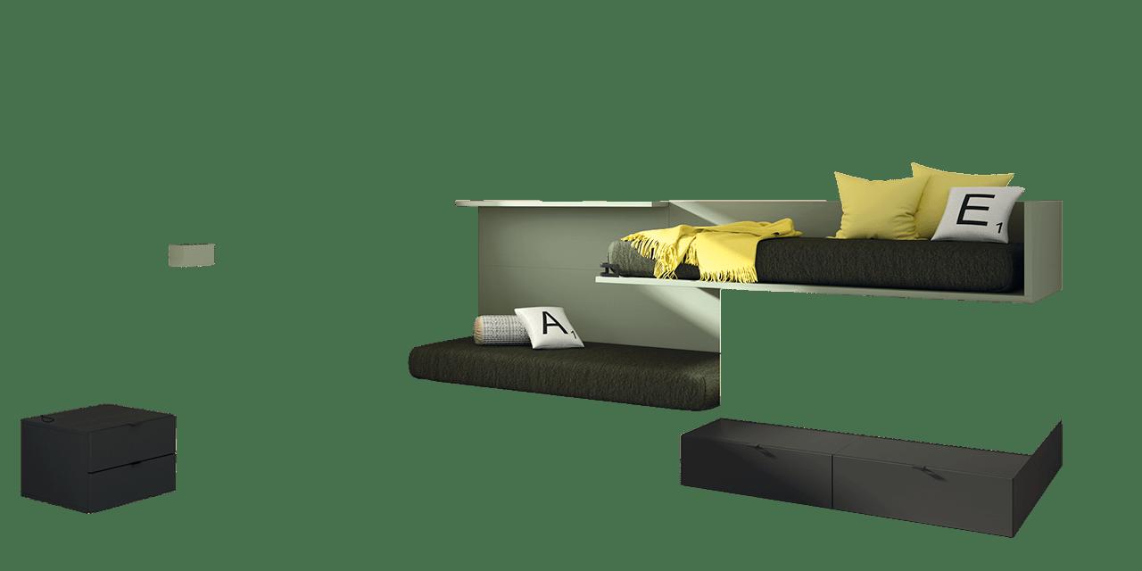Dormitorio juvenil Montreal-combinacion