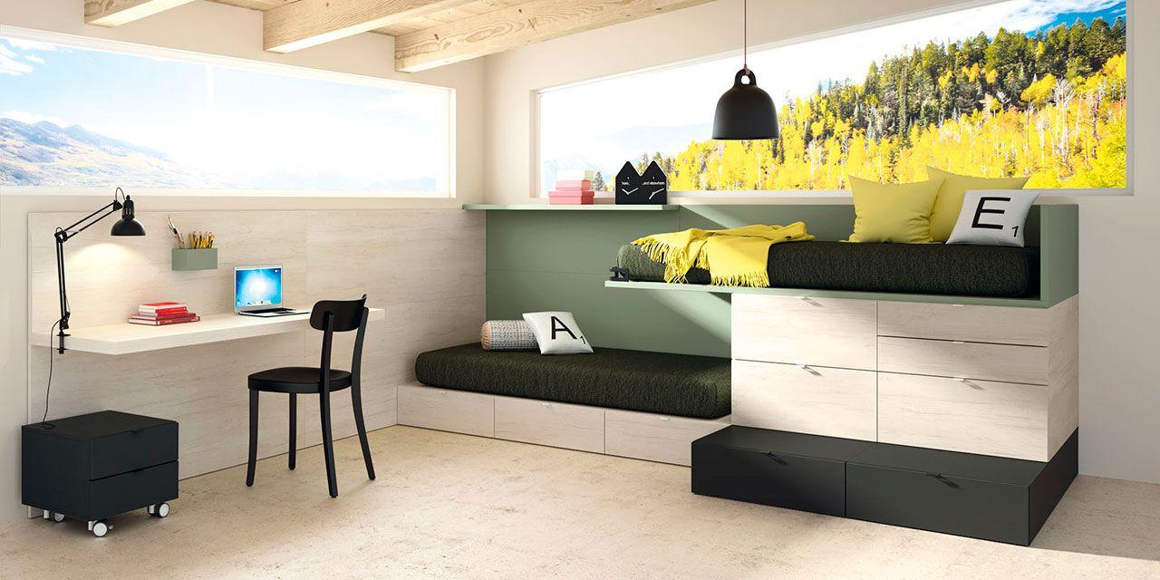 Dormitorio juvenil Montreal