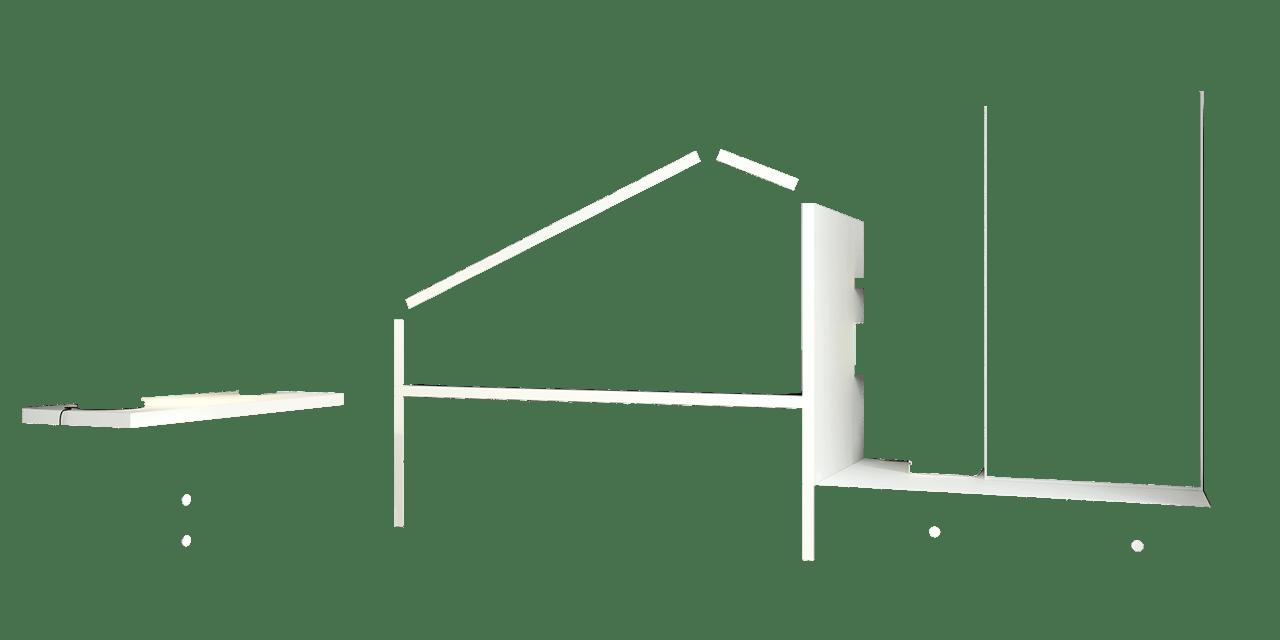 Dormitorio infantil Bremen-combi