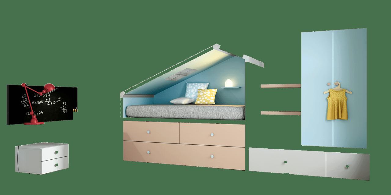 Dormitorio infantil Bremen-combinacion