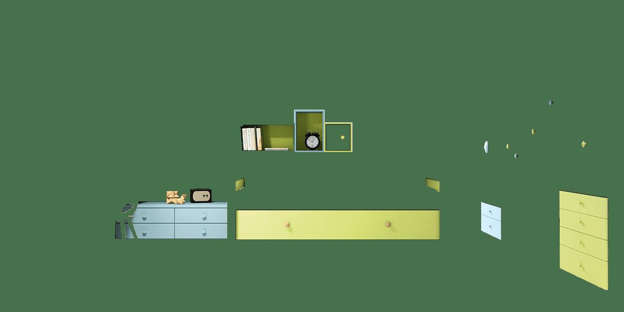 Dormitorio juvenil Edimburgo-combinacion