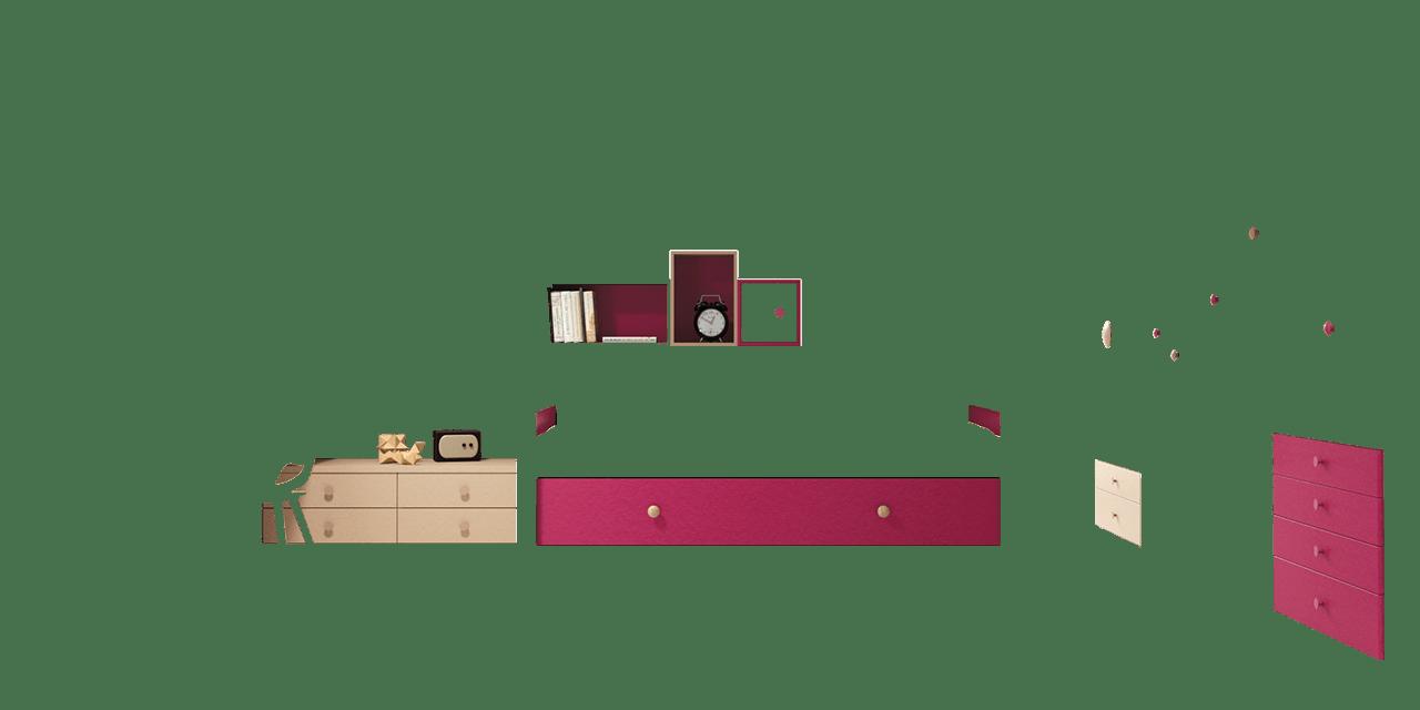 Combinación de colores Orquídea y Sepia Claro