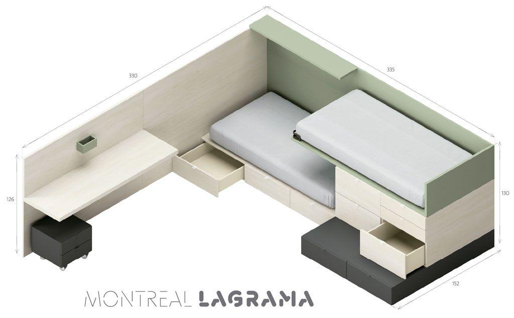 Medidas exteriores de la composición Montreal