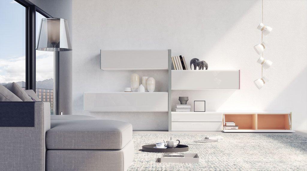 Composición moderna del salón modelo Constanza 2