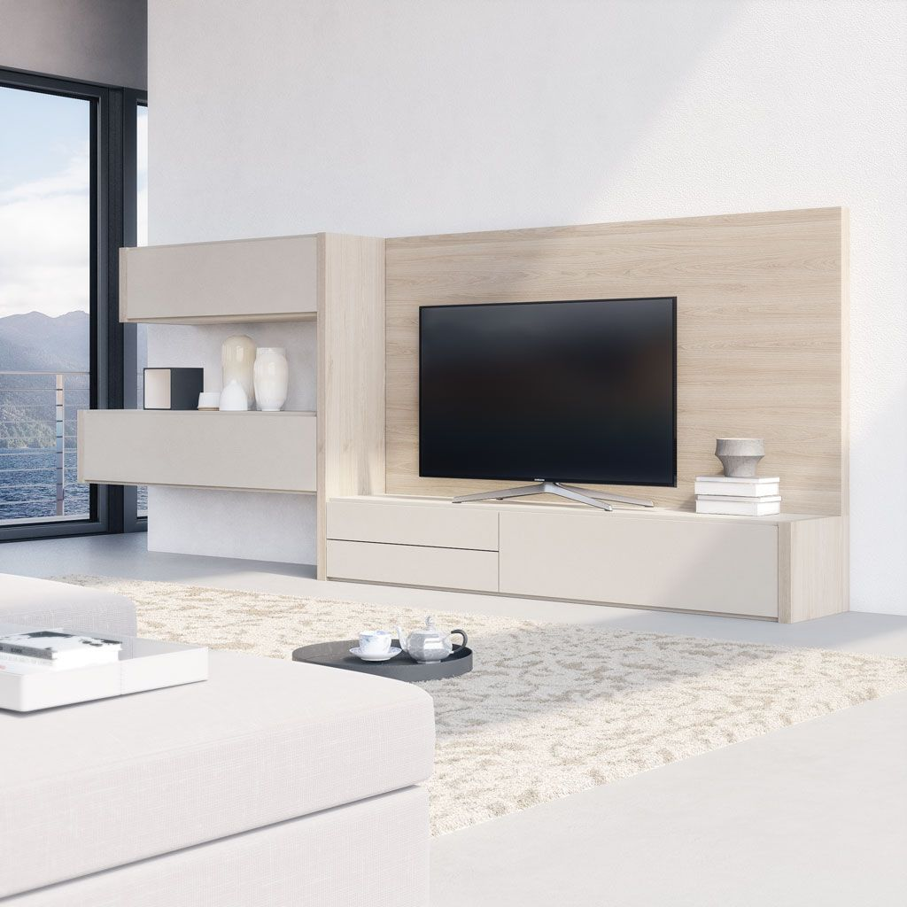 Los salones modernos del cat logo life box tienen un for Disenos de muebles para living