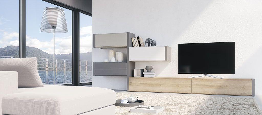 Mobiliario para el salón modelo Constanza