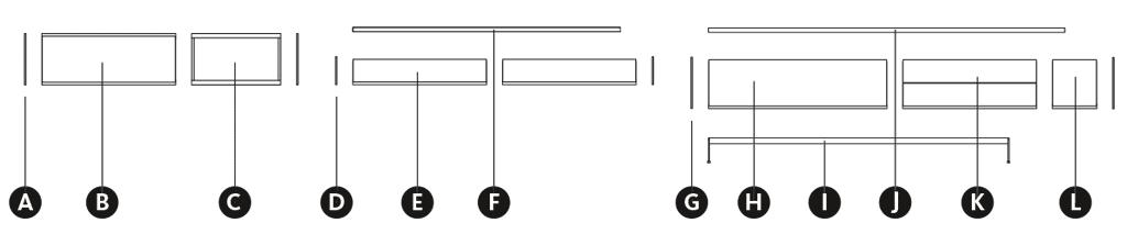 Desglose módulos de la composición Aarhus 2