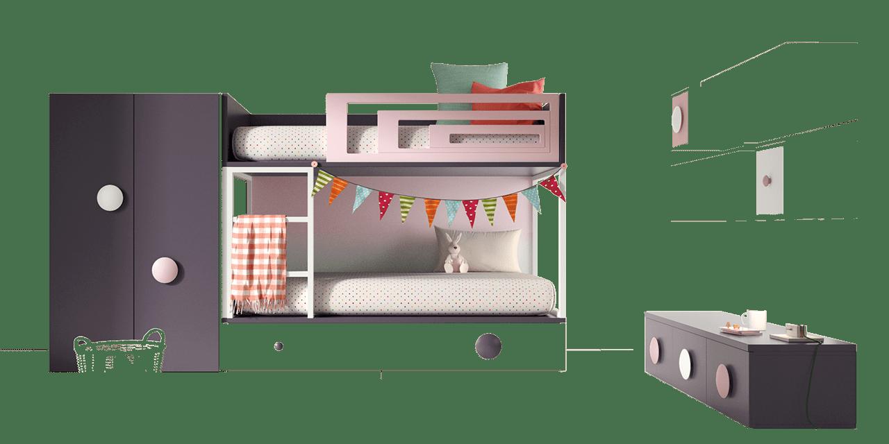 Color Pruna-Rosa-Blanco-Degradado