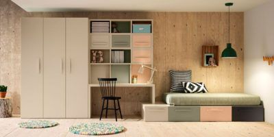 Composición de muebles juveniles Berlín en el planificador