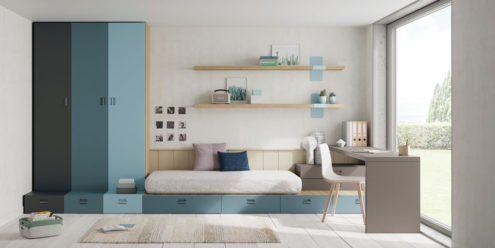 Muebles juveniles modelo Atenas