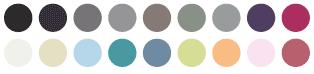 Colores para los tiradores de estas colecciones
