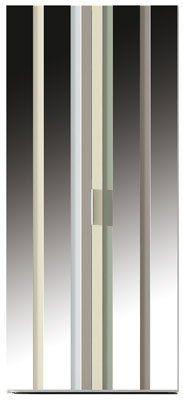 Puertas abatibles modelo AV cristal/espejo
