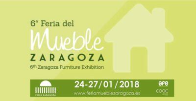 Cartel de la feria de mueble de Zaragoza 2018