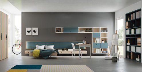 Dormitorio moderno modelo Nantes