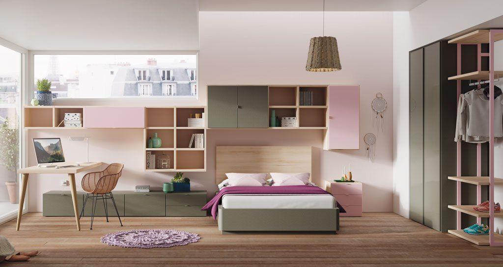 Dormitorio moderno modelo Vitoria