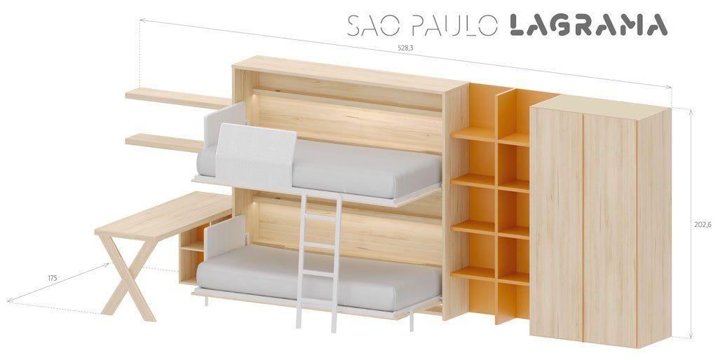Medidas exteriores de la composición juvenil Sao Paulo