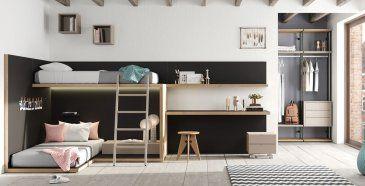 Dormitorios Juveniles Con Un Aire Moderno Diferente Y