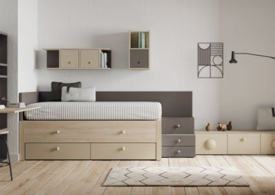 Muebles juveniles modelo Grenoble