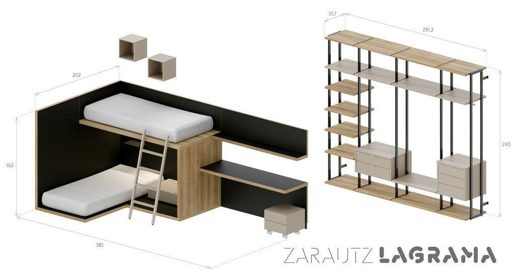 Medidas exteriores de la composición juvenil Zarautz