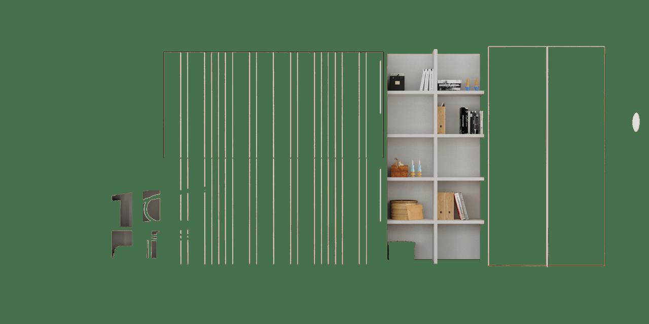 Complementos color Blanco Disset muebles juveniles Sao Paulo