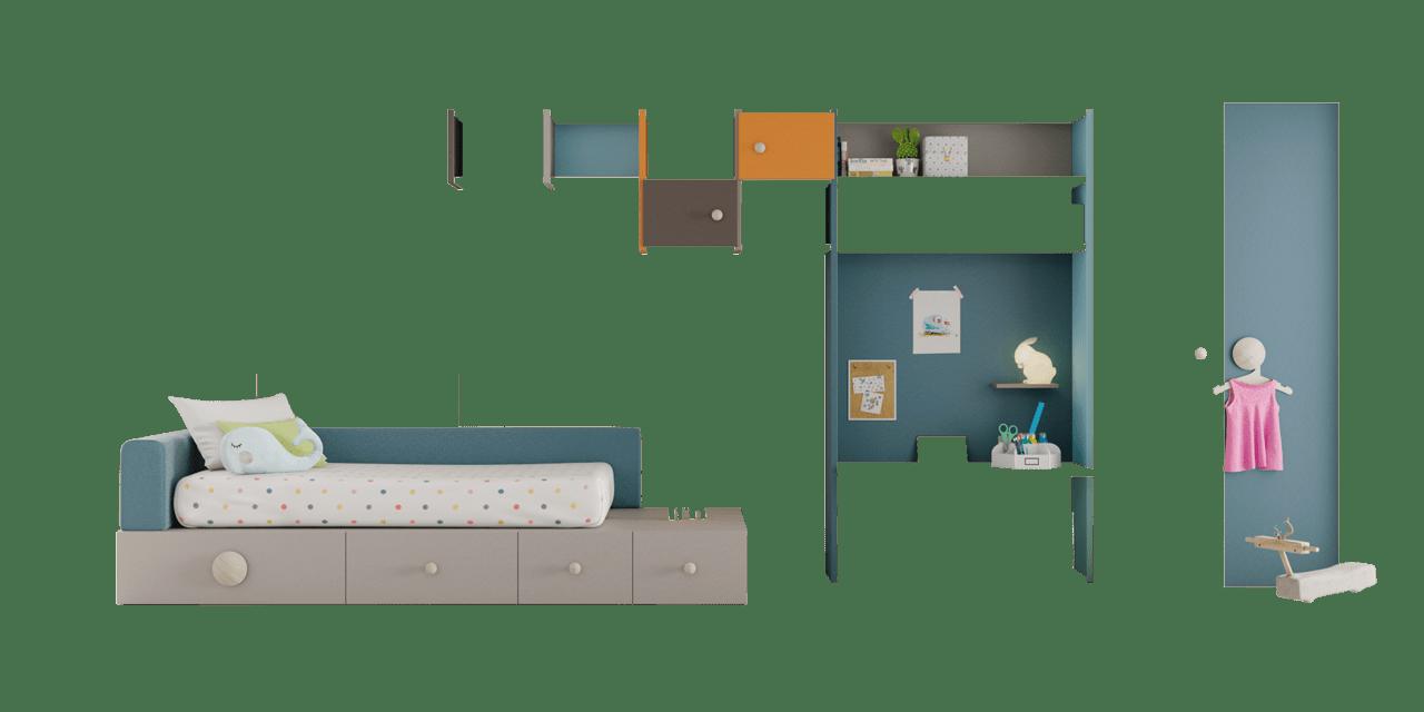 Combinación de colores en la composición Quito