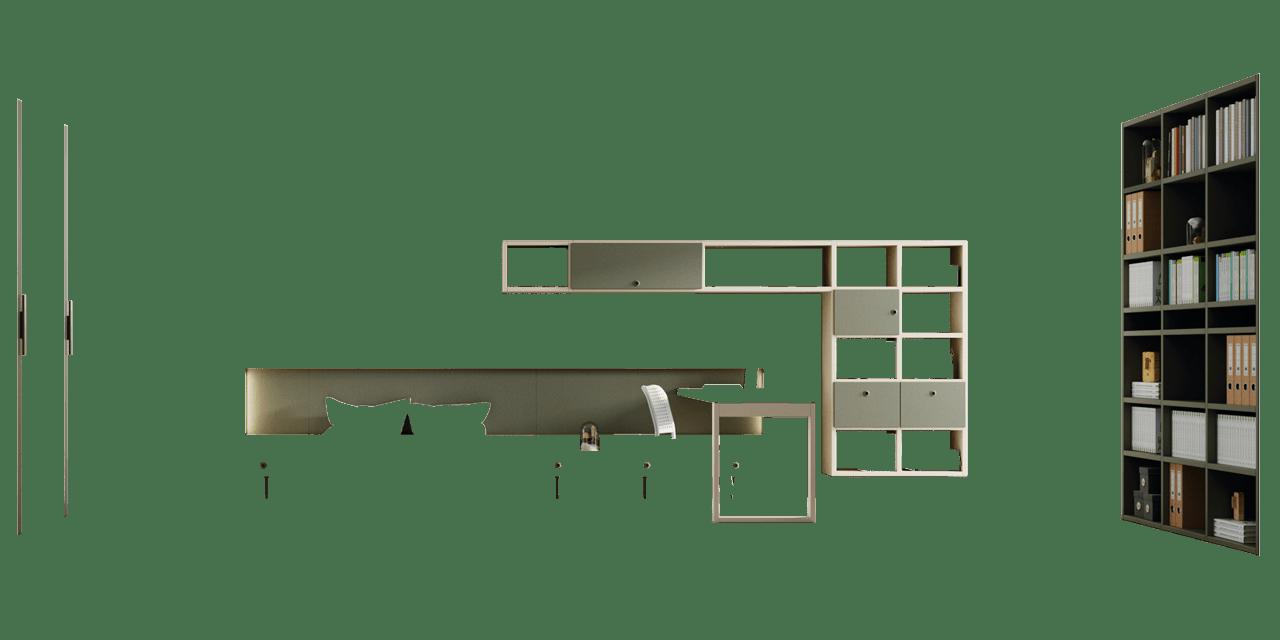 Combinación colores Granito y Nácar Composición Nantes