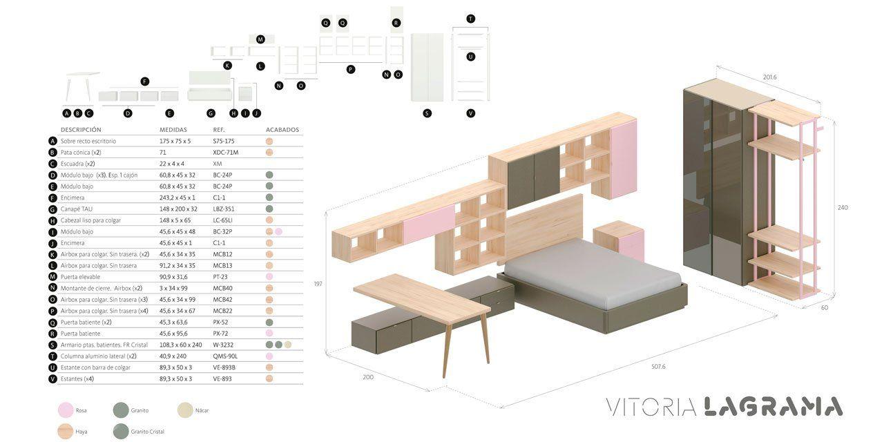 Medidas exteriores composición Vitoria del planificador