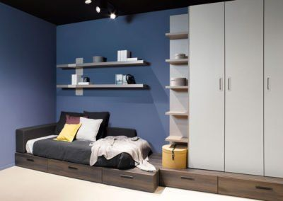 Dormitorio juvenil con el nuevo acabado Moscato